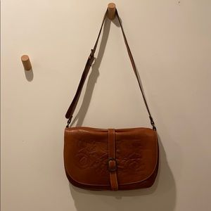Patricia Nash Bags - Brown leather Patricia Nash crossbody